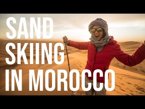 A Sand Skiing Adventure In Morocco | Tastemade Travel