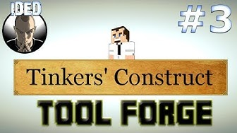 Tinkers Construct Tutorial - Tool Forge and much more - Minecraft Mod