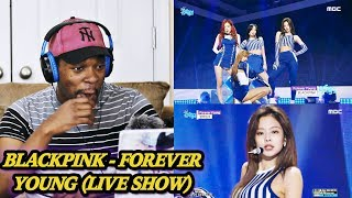 IN LOVE WITH JENNIE!! BLACKPINK - Forever Young (Comeback Show) REACTION | Jamal_Haki