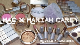 MAC x Mariah Carey Collection Review + Swatches | KelseeBrianaJai