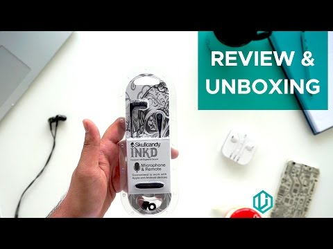 Skullcandy Ink'd Review & Unboxing