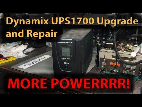 #331 Dynamix UPS1700 Repair and Power Upgrade !