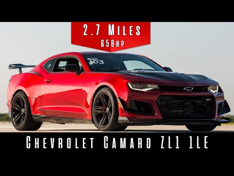 2019 Chevrolet Camaro ZL1 1LE | (Top Speed Test)