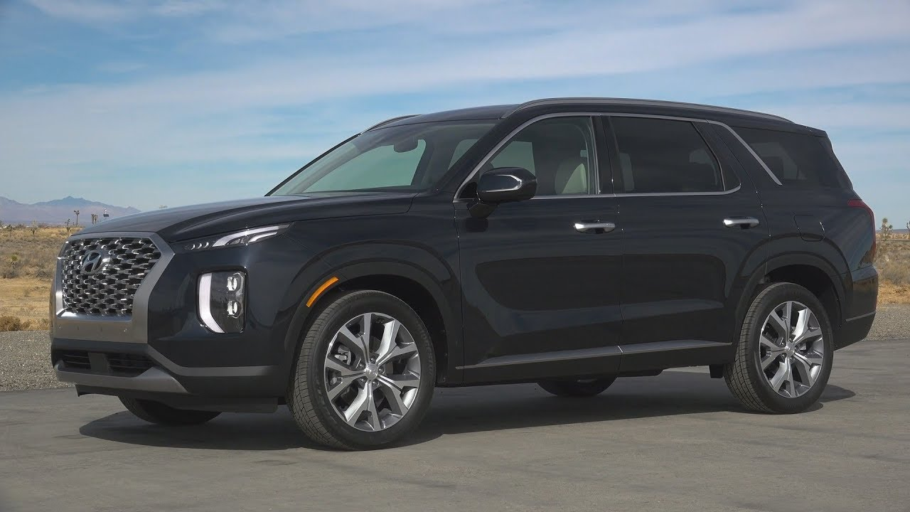2020 Hyundai Palisade 8 Seat Large Suv Youtube
