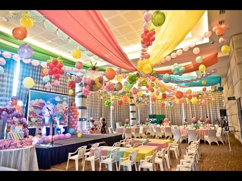 Paige's Candyland 7th Birthday at Acacia Hotel Manila - Rio Jones Photography