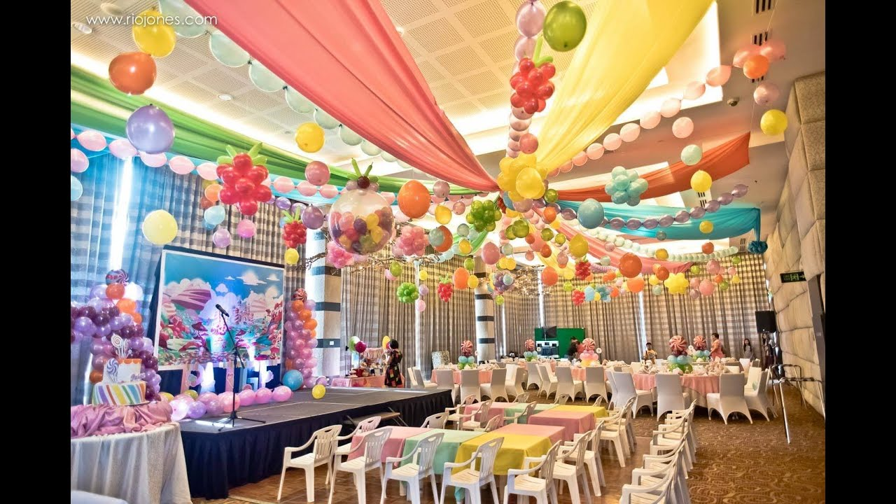 Paige S Candyland 7th Birthday At Acacia Hotel Manila