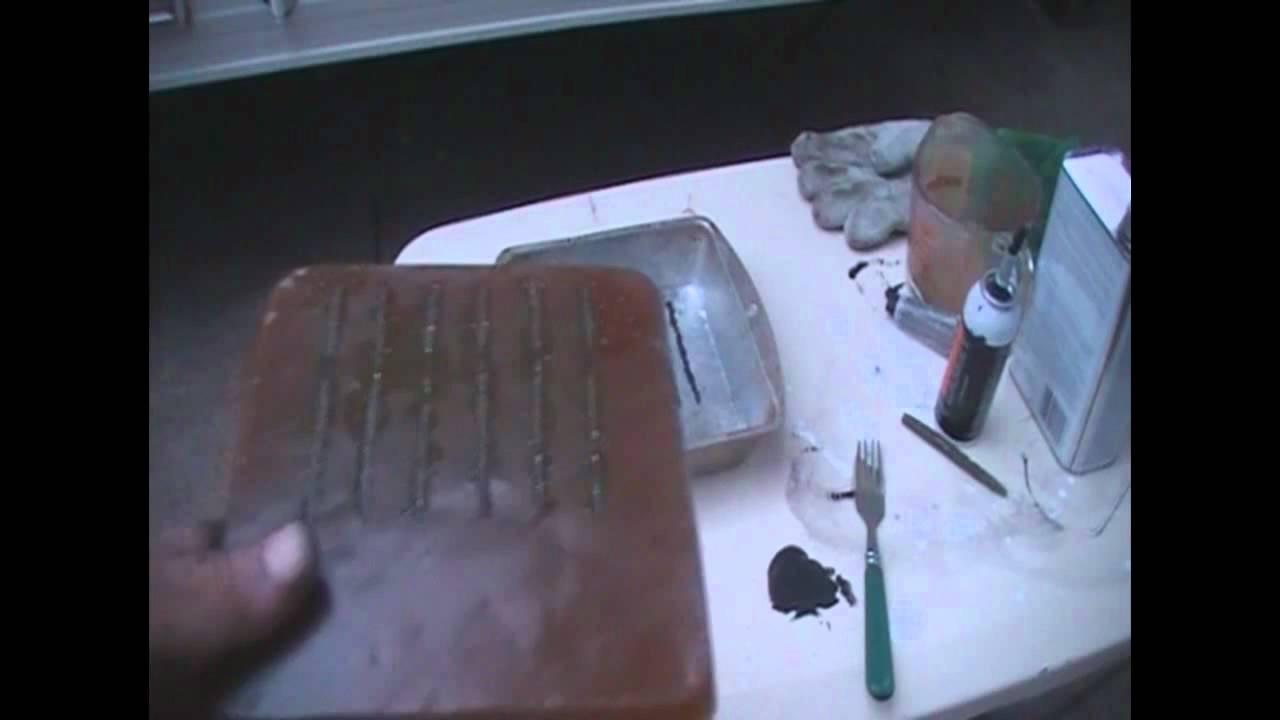 How To Make A Senko Worm Resin Mold