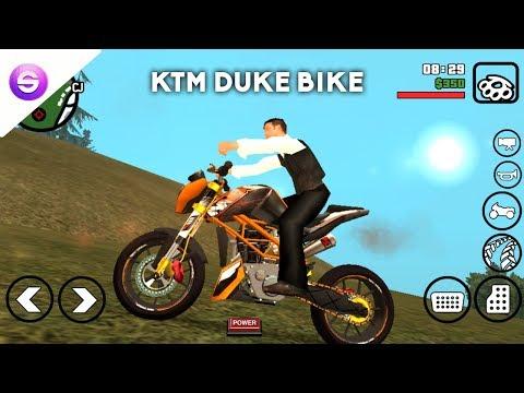 Install Ktm Duke Bike Mod For GTA SA ! Android