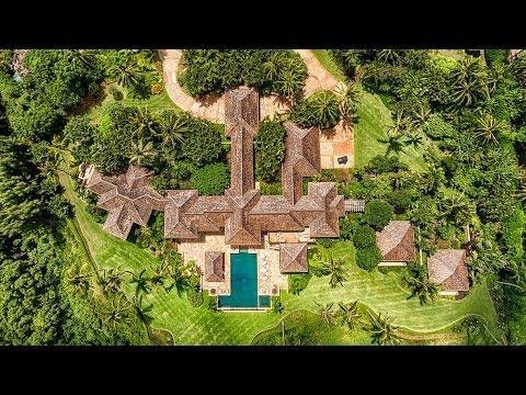 Stunning $10 Million 10,000 SQ FT 6 Bed 8 Bath Tropical Hawaiian Paradise in Hawaii USA