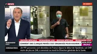 Cover images Dr Sydney Ohana - Mesures sanitaires prises à la Clinique Eiffel-Carré d'Or