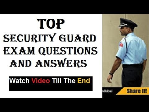SIRA Security Exam Basics Preparation Dubai 2017 PART 1