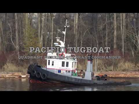 PACIFIC tugboat QUADRANT WARRIOR & COMMANDER 2017