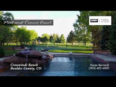 Crosswinds Ranch, Boulder County, Colorado, Luxury Estate for Sale