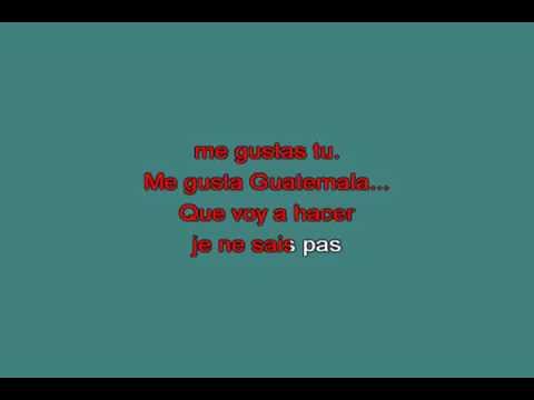 Me gustas tu   Manu Chao [karaoke]