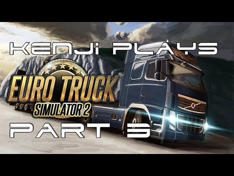 Let's Play Euro Truck Simulator 2: Episode 3 - Sequential Manual, Flawless Delivery!! (Sort of..)