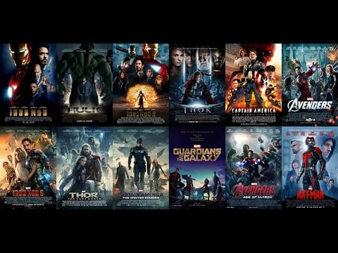Classifica 12 Film Marvel Youtube