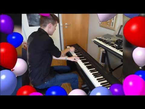 Happy Birthday - Jazzy Piano Arrangement (Jonny May Cover)