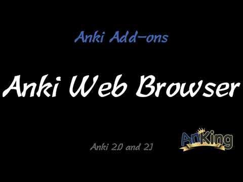 Anki Web Browser Add-on