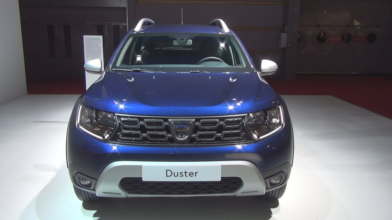 Dacia Duster Prestige Blue Dci 115 4x2 6mt 2019 Exterior And