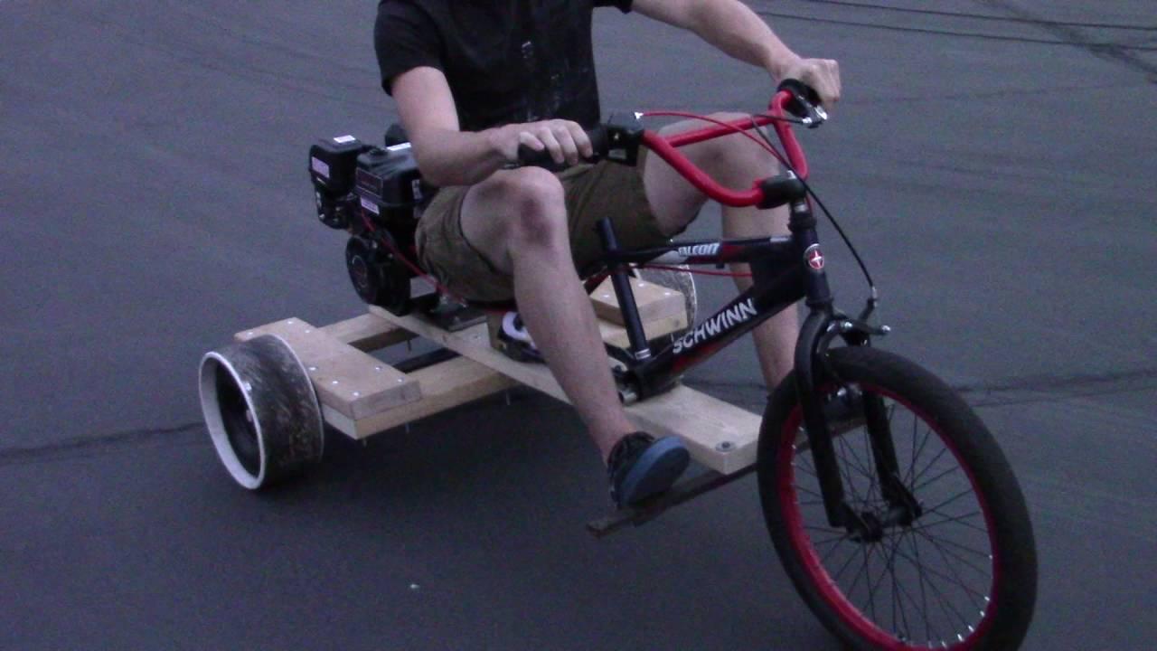 Wooden Drift Trike