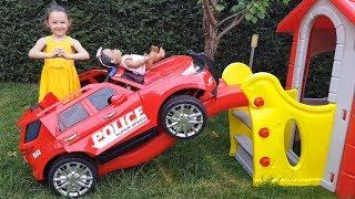 Öykü'nün Arabası Kaçıyor - Öykü Pretend Play Toy Car - Funny Oyuncak Avı