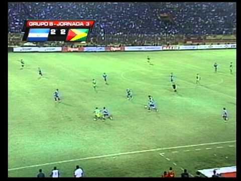 Resumen Partido Hexagonal El Salvador 2 - 2 Guyana. 7 de Sept. 2012