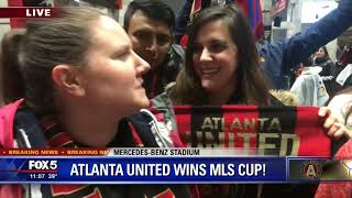 Atlanta United supporters   Best day of their lives