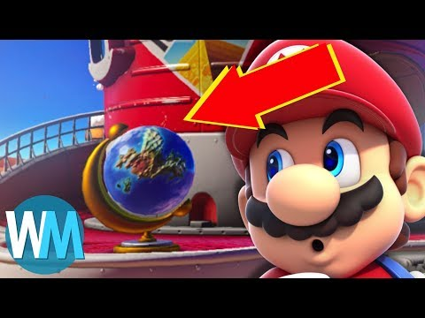 Top 10 Easter Eggs in Mario Odyssey
