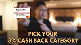 BoA Business Cash: NEW 3% Category (Gas, Travel, Supplies) Of Your Choice