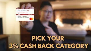 BoA Business Cash: NEW 3% Category (Gas, Travel, Supplies) Of Your Choice Video
