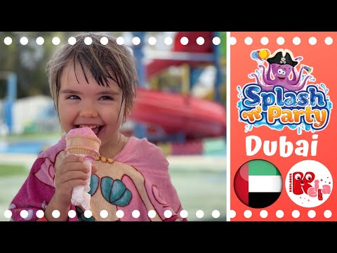 Fun at Splash N' Party Water Park, Dubai 2021 💦👌
