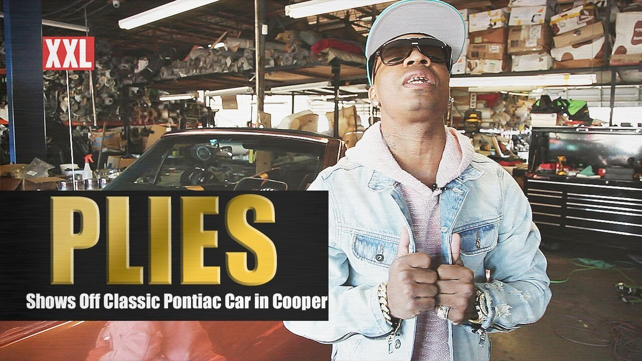 Plies Unveils His Custom-Made Copper Pontiac 350 and Talks About His Love for Old School Cars