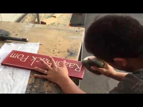 DIY Wood Signs | How To Make a Rustic Wood Sign Using Vinyl Stencil and Spray Paint | Custom Signs
