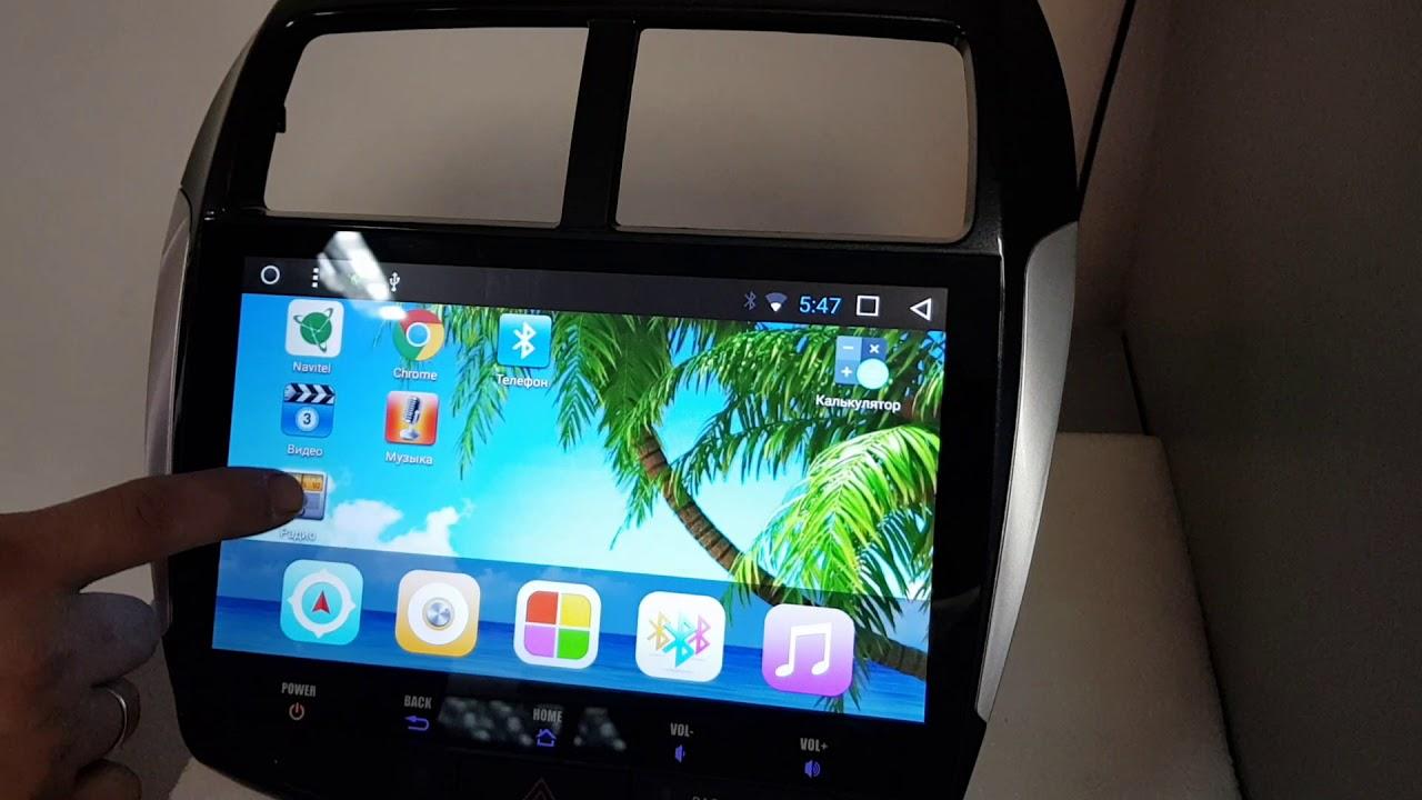 Штатная магнитола Mitsubishi ASX, RVR 2010+ Android 7  / 10д 32Гб  /2ГБ