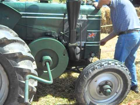 starting a field marshal tractor very hard work]  (2)