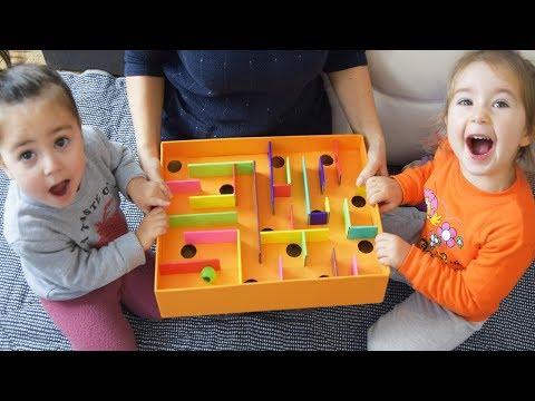Эта игра надолго отвлечет Ваших детей от гаджетов😀 How To Make A Cardboard Box Labyrinth Game