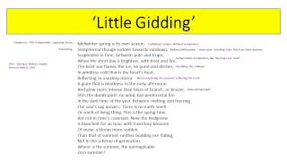 'little Gidding' By T.s. Eliot Revision Video