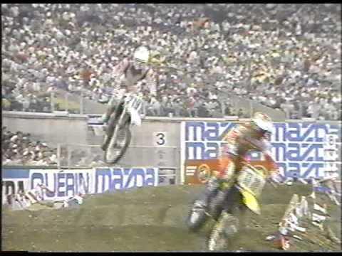 Supercross de Montréal  30 mai 1987