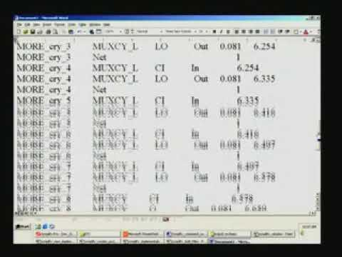 Lecture-31-Synplify Tool - Schematic Circuit Diagram