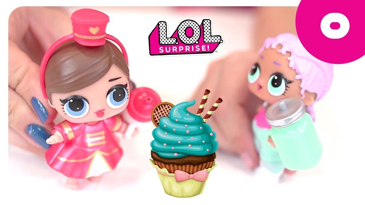 Ароматные капкейки Куклы сюрприз распаковка игрушек Cupcake .