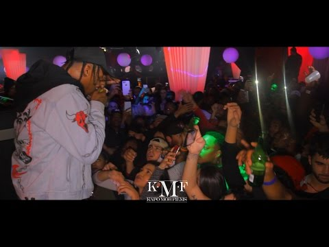 Travis Scott Performing Mamacita, 3500, Upper Echelon & Antidote (Dir. By Kapomob Films)