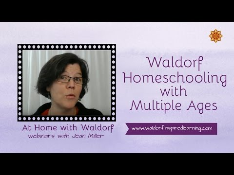 Waldorf Homeschooling with Multiple Ages