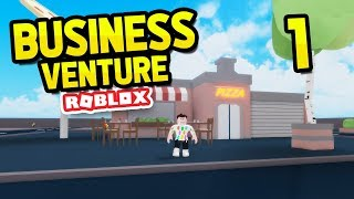 BUILDING MY OWN BUSINESSES - ROBLOX BUSINESS VENTURE #1