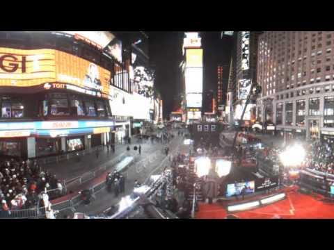 360° New Years Rocking Eve '17 in Times Square