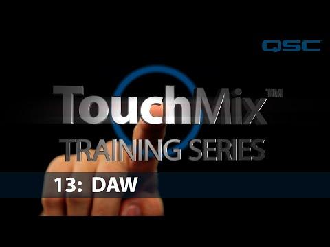 QSC TouchMix-30 Training 13: DAW Interface (English)
