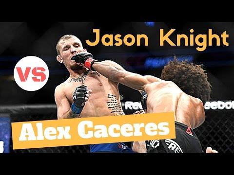 Jason Knight vs Alex Caceres Highlights Full UFC on Fox 23