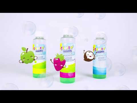 02261 SES Outdoor - Fruit scented bubble solution 3x200ml