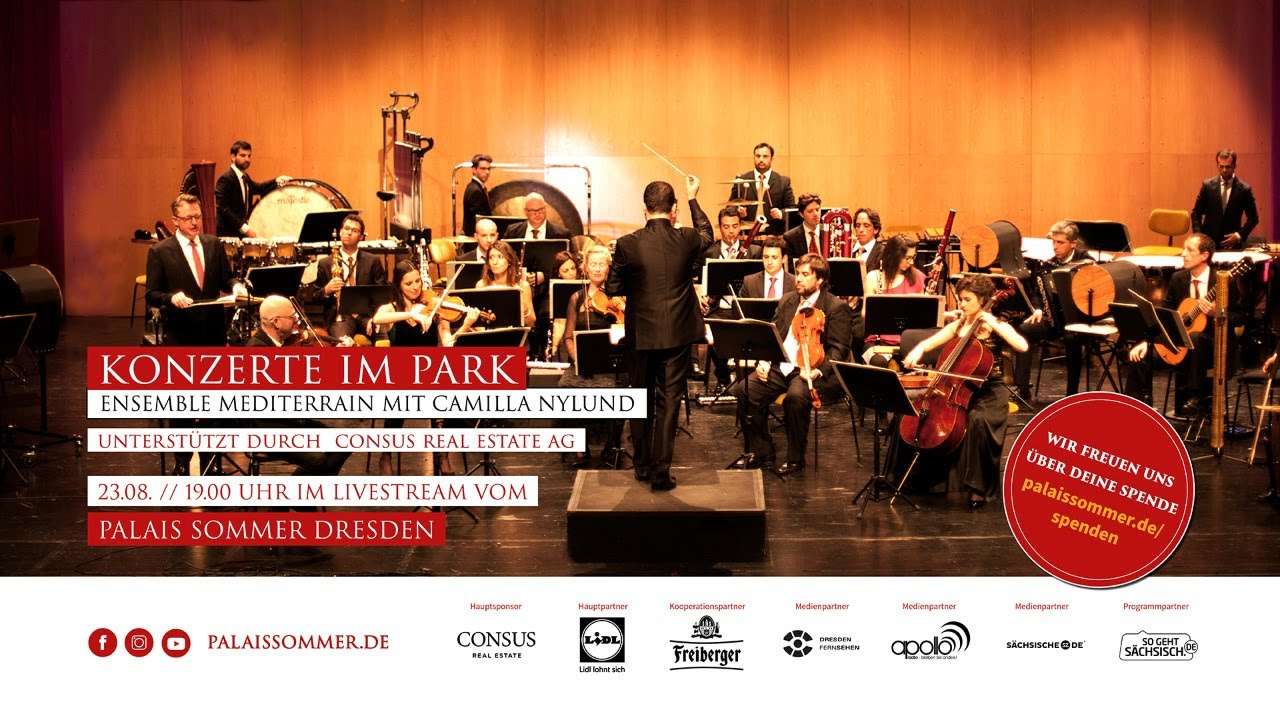 "LIVESTREAM: ""Klassik Nacht - Ensemble Mediterrain"" - 23.08. // 19:30 Uhr"