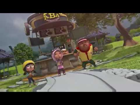 Boboiboy hang on tight (ov)