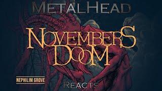 METALHEAD REACTS to Nephilim Grove by Novembers Doom